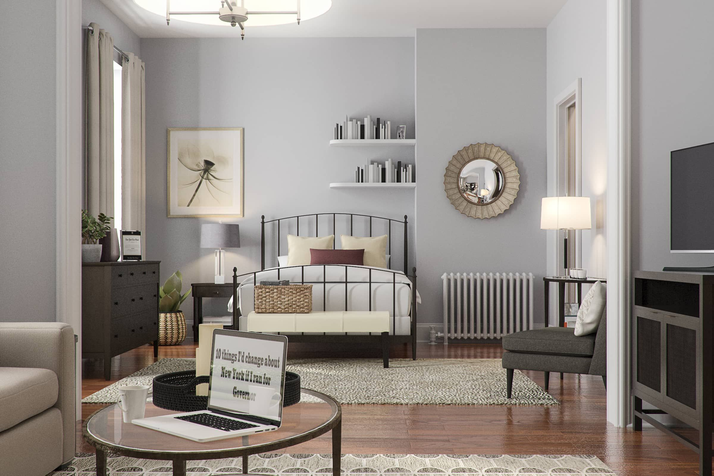 Here's What Carrie Bradshaw's Apartment Would Look Like in