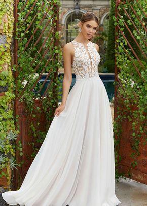 Polina A-line Wedding Dress by Morilee by Madeline Gardner - WeddingWire.com