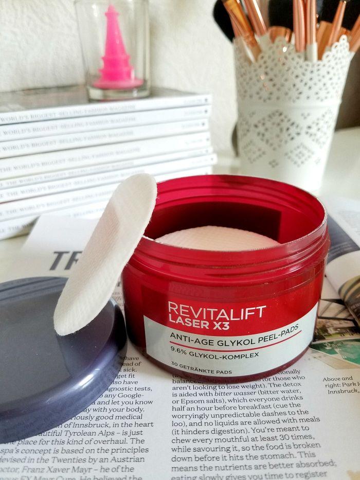 L´Oréal Paris - Revitalift Laser X3 Anti-Age Glykol Peel..