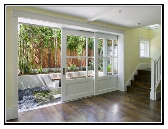 3 Panel French Patio Doors With Sidelights   Home Images Galerry