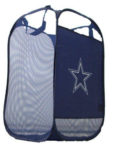 Dallas Cowboys Nfl Pop Up Hamper By Dallas Cowboys Nfl Pop