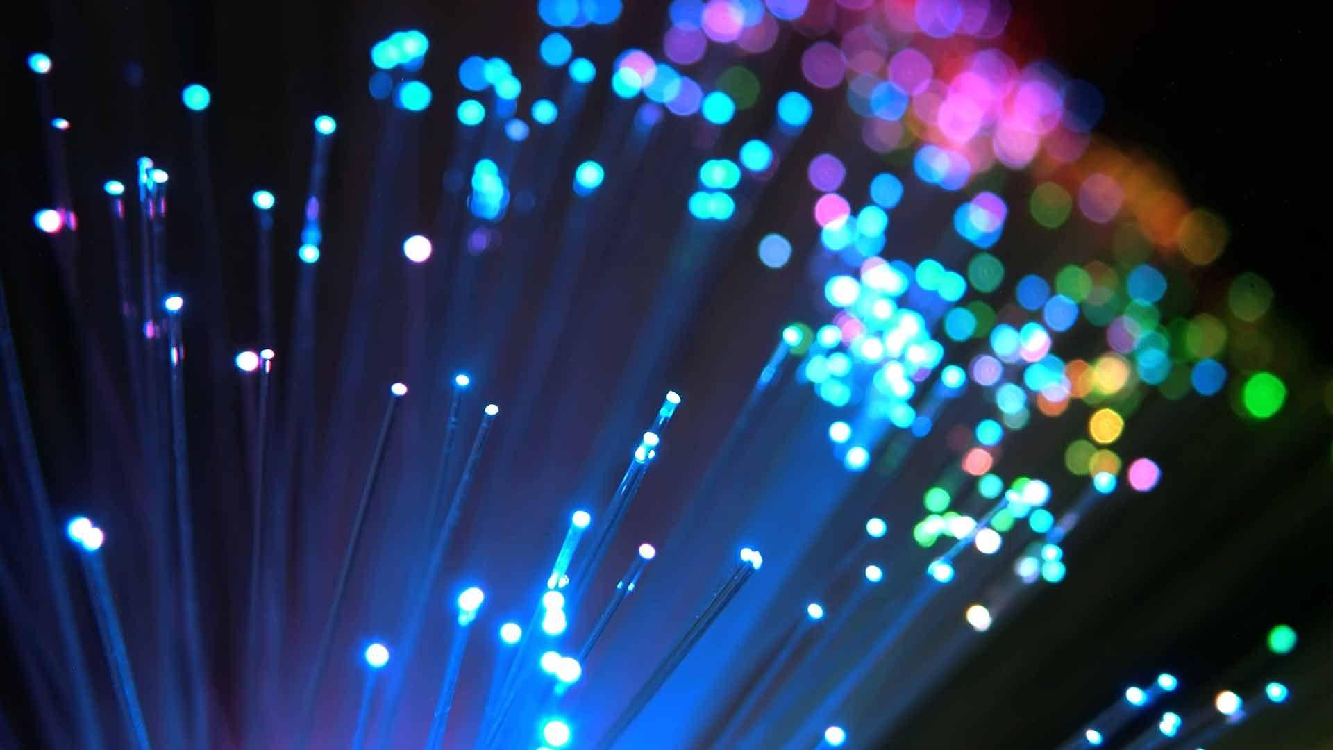 Fibre Optics Colours Fiber Optic Fibre Optics Broadband