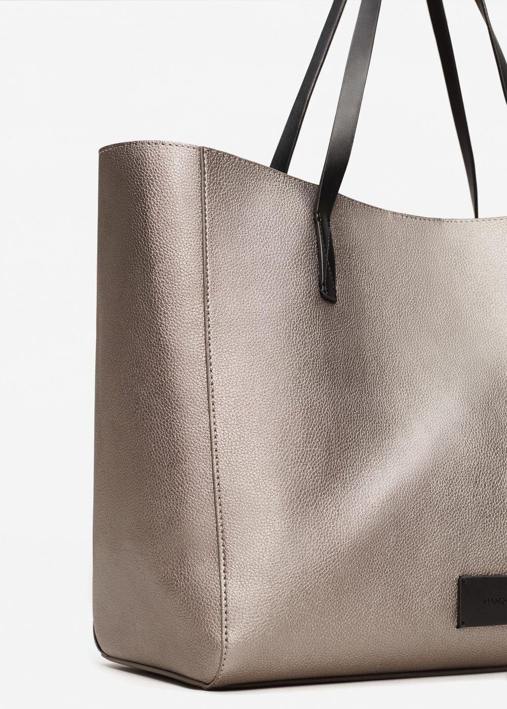 la venta!!! Zara Doble Hebilla Shopper//Bolso últimos!!