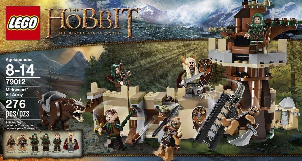 NEW LEGO The Hobbit Mirkwood Elf Army FREE SHIPPING BOX SET GIFT ...