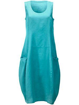 9bafb5df3a77b4 Anna Aura - La robe en pur lin | Dresses | Robe, Turquoise, Anna