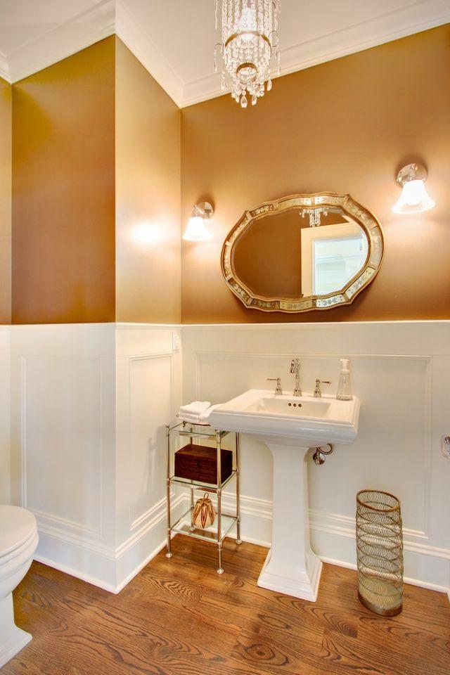 Wandgestaltung mit Farben – Ideen in Gold und feinen ...