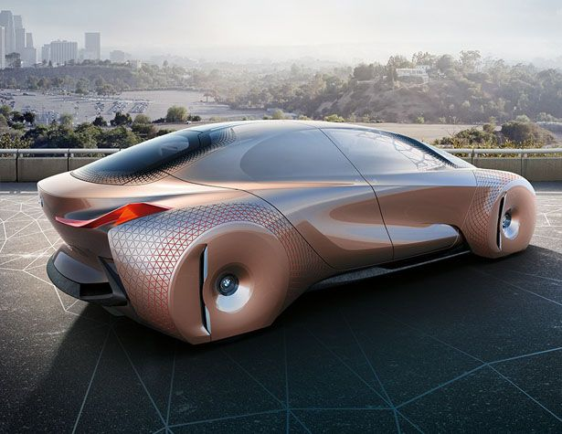 Bmw Vision Next 100 Concept Car With Images Bmw Concept Car