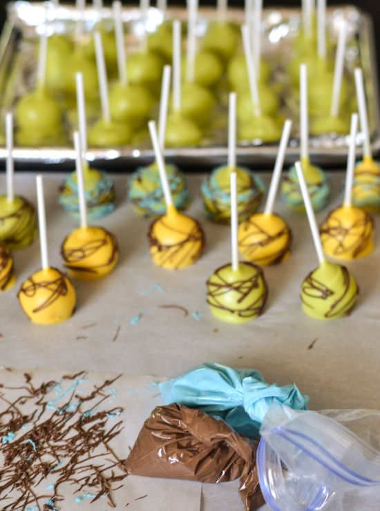 Lion King Cake Pops Lion King Cakes Cake Pop Favors