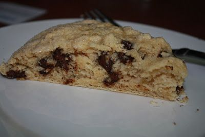 Chocolate Chip scones.  I made these today and they were so good.  Only 5pts+