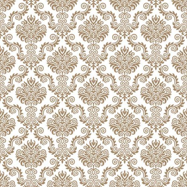 Papel de pared vintage marrom patterns 2015 pinterest - Papel pared vintage ...