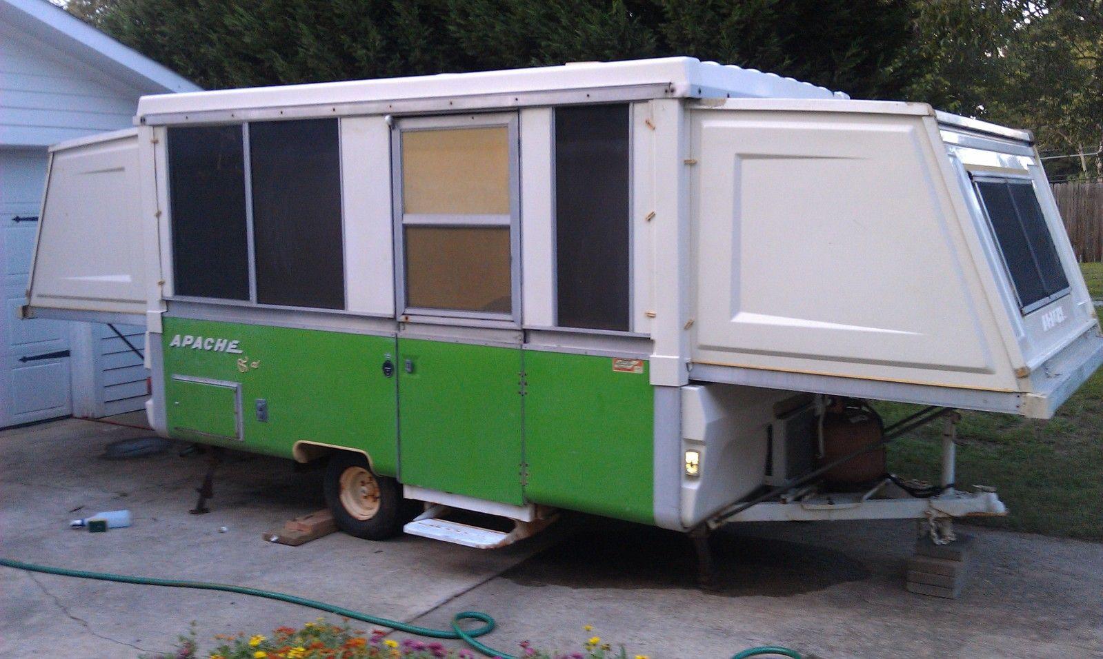 77 Apache Royal Apache Camper Tent Trailer Remodel Apache