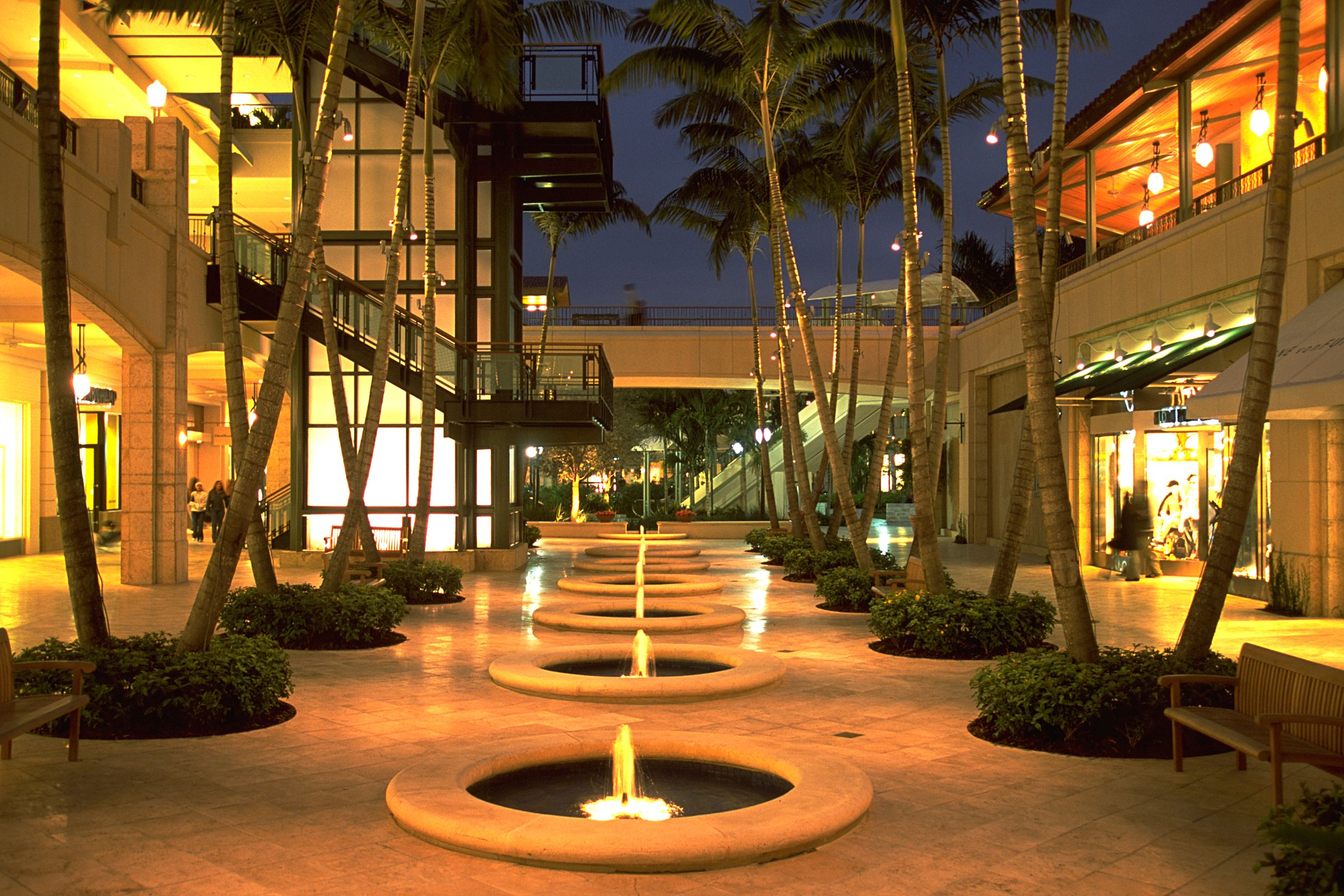 Village Of Merrick Park Coral Gables Fl Retail Street At