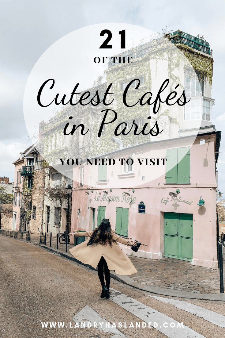 21 Of The Cutest Parisian Cafes You Need To Visit In 2020 Parisian Cafe Paris Cafe Cute Cafe
