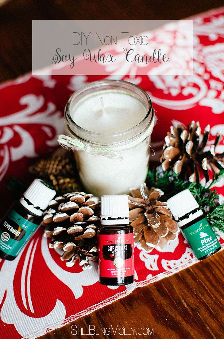 DIY NonToxic Candles Soy candle jars, Candle addict