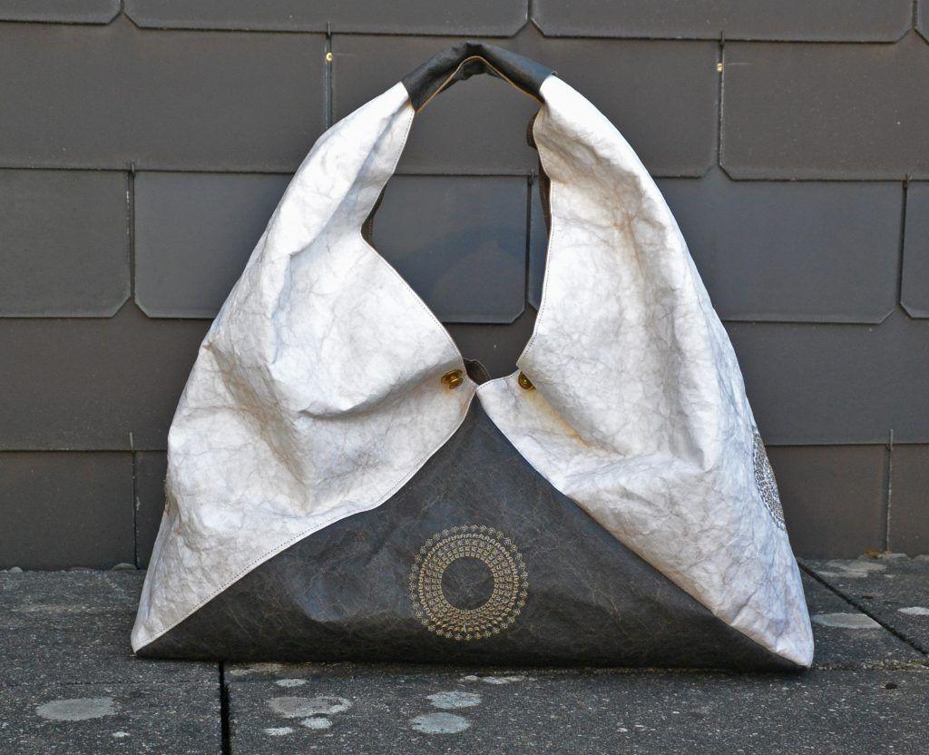 lederpapier.3 | Nähen | Pinterest | Origami, Origami-tasche und ...