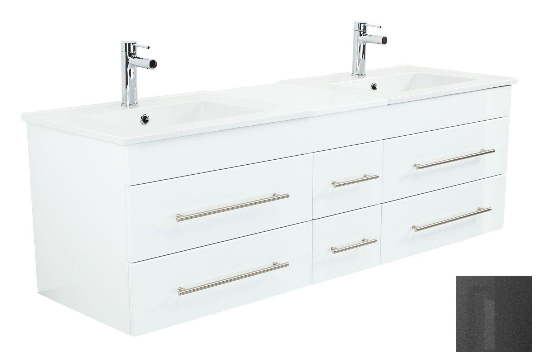Milano Xl Mit 6 Softclose Schubladen Inkl 1 Waschbeckenunterschrank Und 2 Waschbecken Ma Szlig Waschtisch Waschbeckenunterschrank Waschbecken