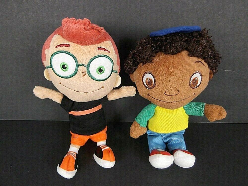 Little Einsteins Leo & Quincy Plush Dolls Disney Junior ...