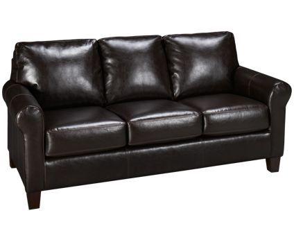 Ashley-Nastas Bark-Nastas Bark Bonded Leather Sofa - Jordan\'s ...