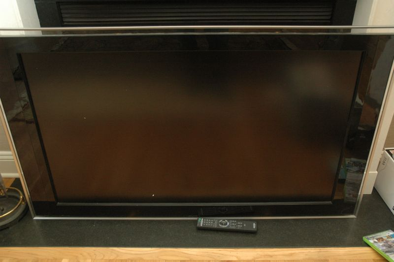 Sony Bravia Semi Flat Screen Tv Turns On When Plugged In Measures