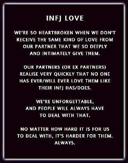 Infj love