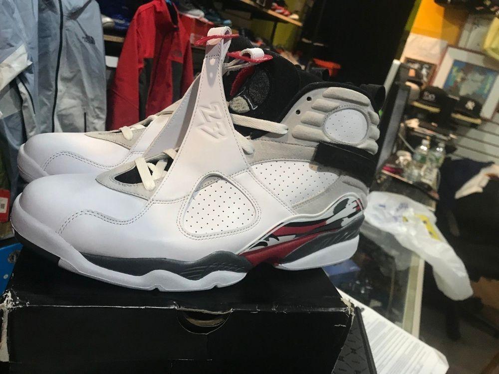 best service 3d1eb c5d62 2012 Nike Air Jordan 8 Retro White Black True Red Sz 12 Bugs Bunny 305381- 103  fashion  clothing  shoes  accessories  mensshoes  athleticshoes (ebay  link)