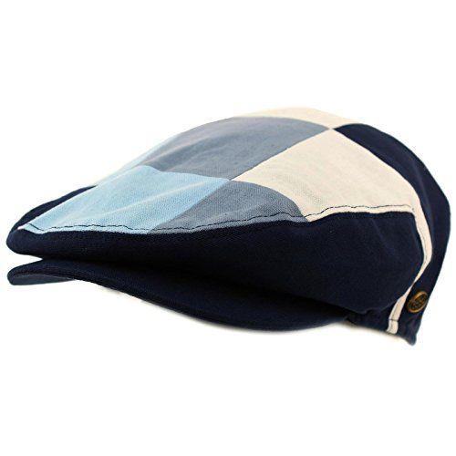 5473d4b21da  11.50 -  11.55 Men s Cotton 14 Panel IVY Checkerboard Plaid Driver Cabby  Flat Cap Hat