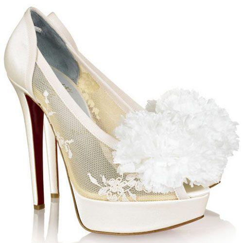christian louboutin tsar 140mm satin pumps ivory shoes rh pinterest com