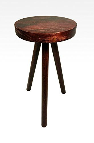 Stool Bedside Table: Modern Side Table In Mahogany By Candlewood Furniture End