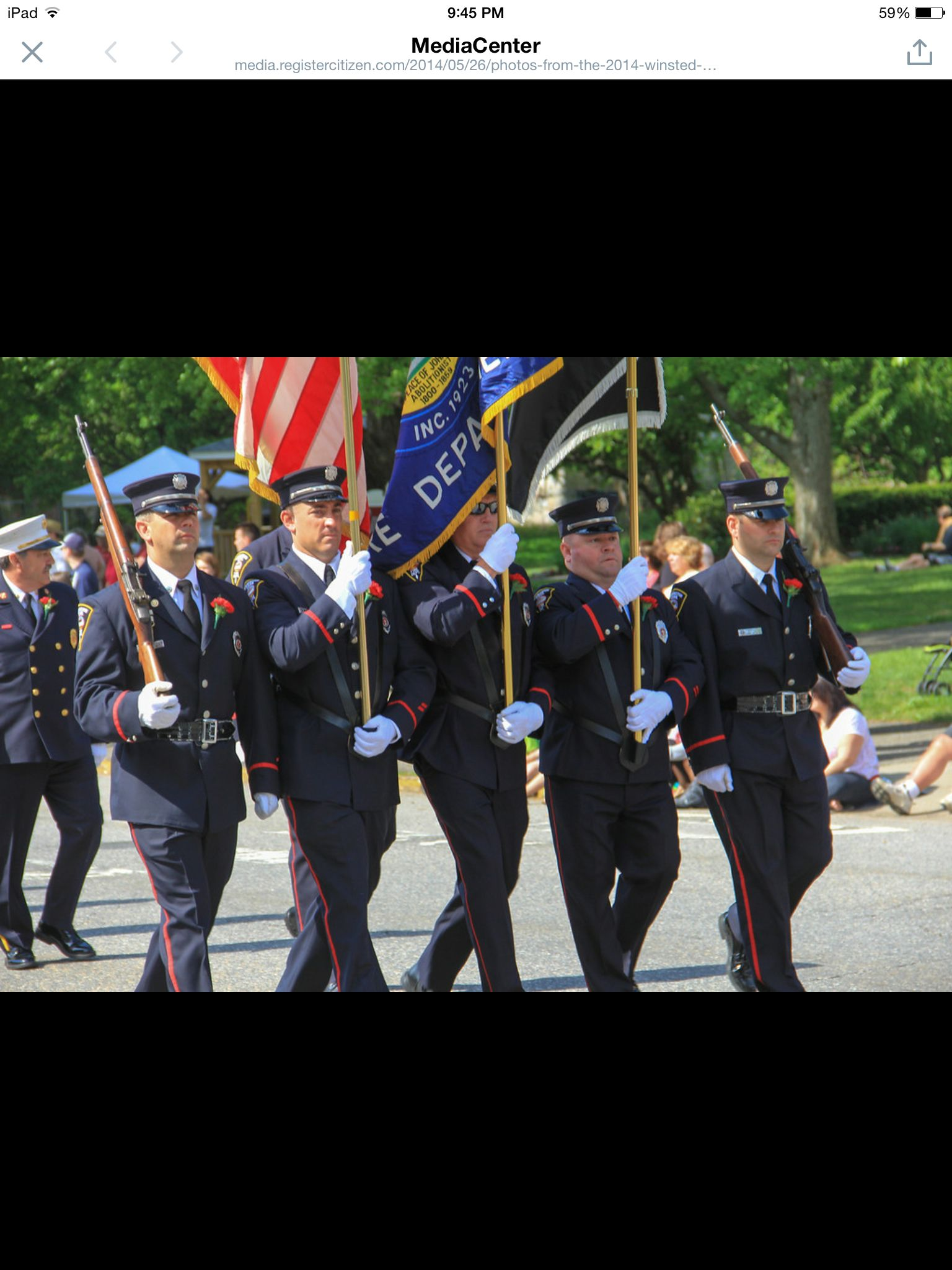 Tfd honor guard memorial day 2014 honor guard fire