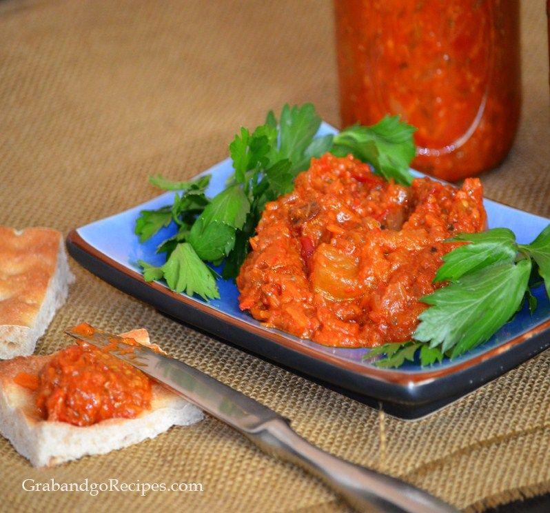 recipe: baklazhannaya ikra russian eggplant caviar [2]