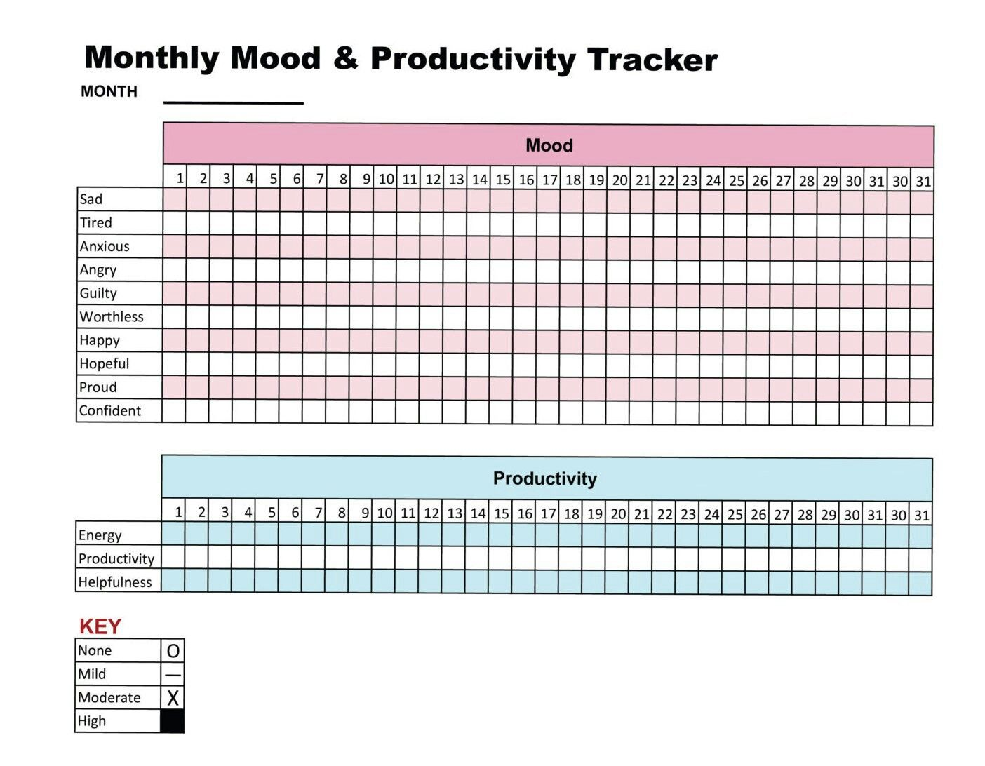 Pin By Chelsea Kuhn On Tracking Worksheets