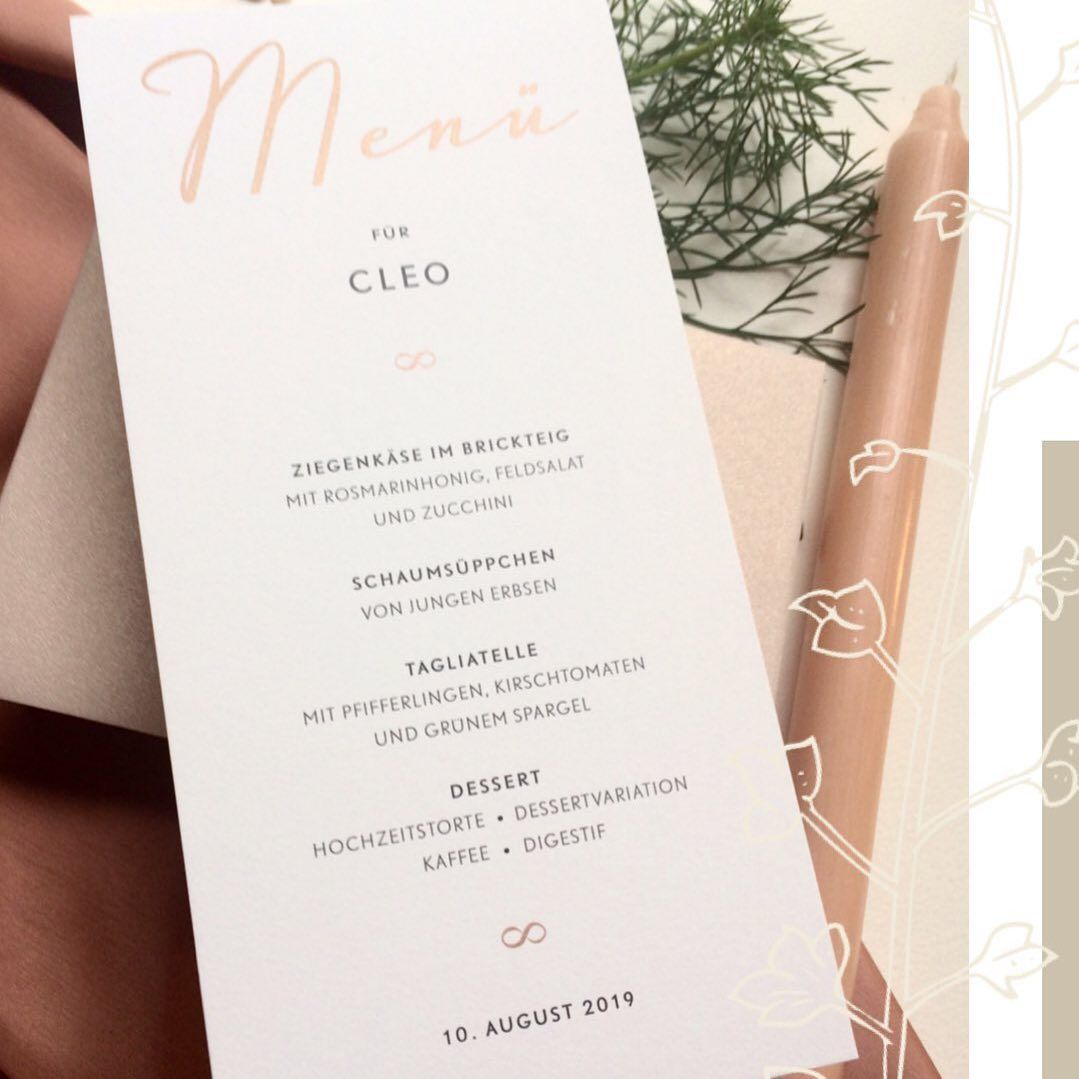 A Simple Menu For Your Guests Printed With Shimmering Gold Ink And Its Personalized For Each Guest In 2020 Wedding Table Numbers Simple Menu Wedding Stationary