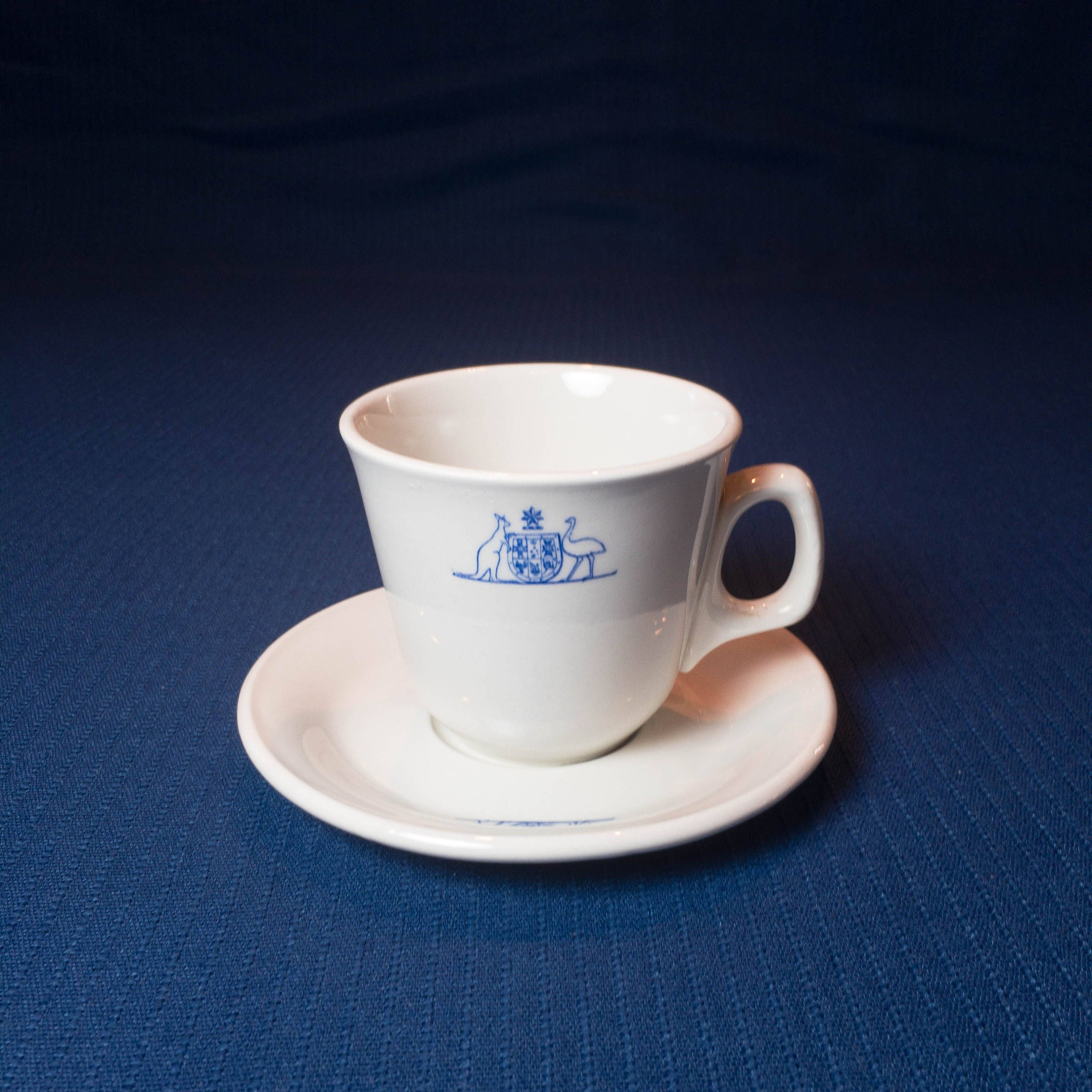 Commonwealth Coat of Arms Australia Coffee Cup and Saucer