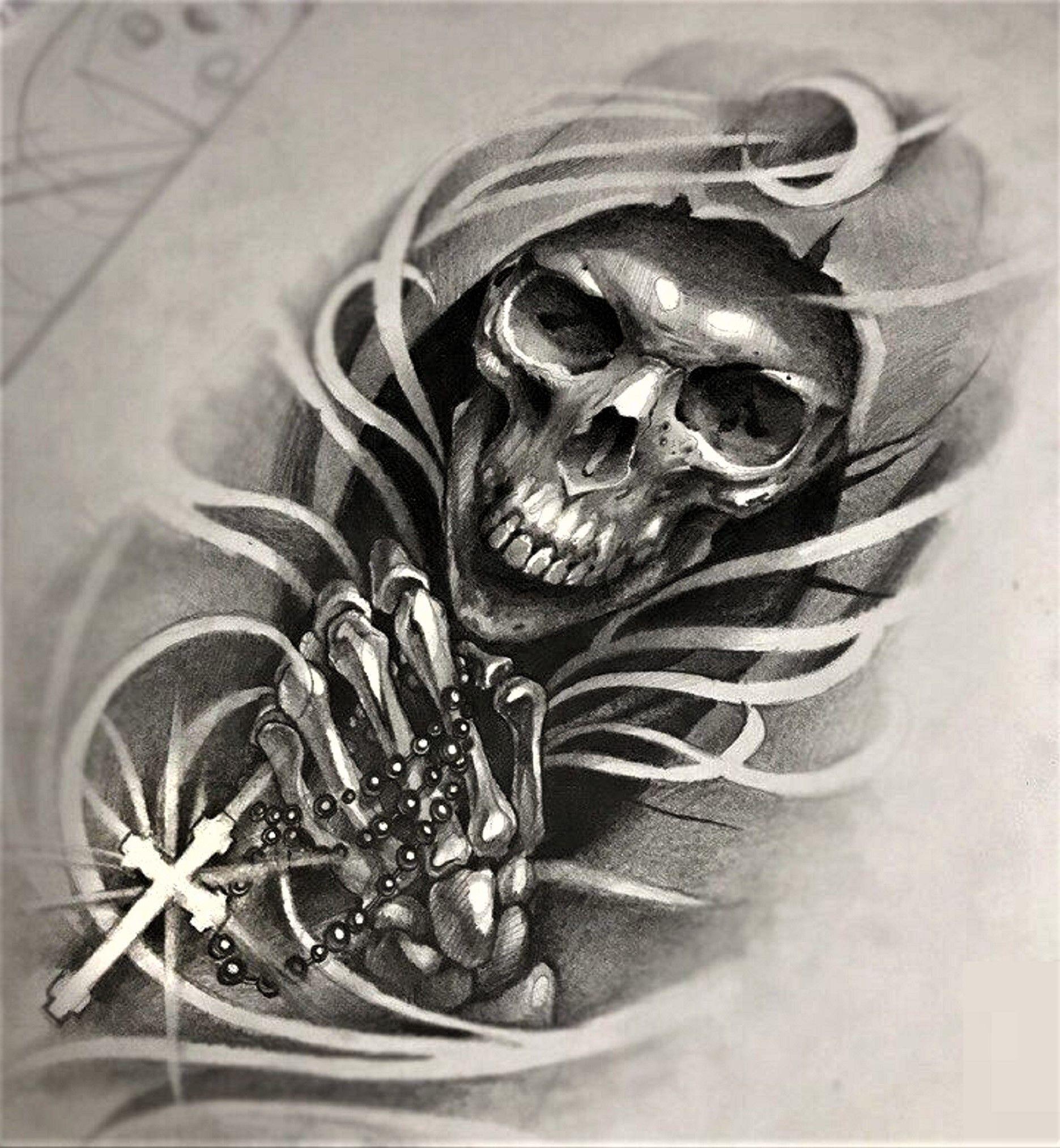 Tattoo Ideen Vorlagen Make Up Trends Skull 3