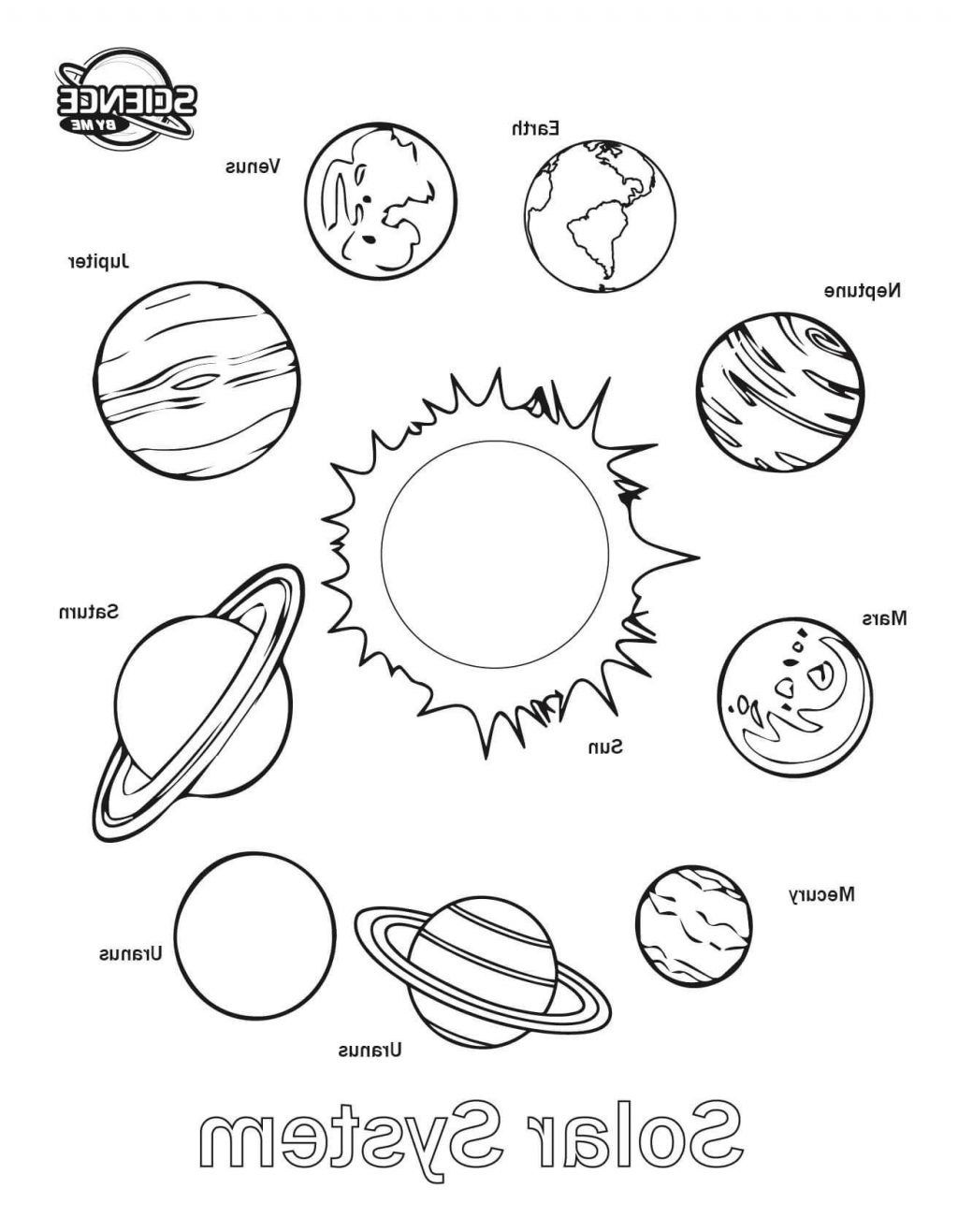 Solar System Coloring Pages Coloring Pages Solar System