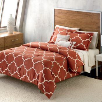Apt 9 Trellis Autumn 3 Pc Comforter Set King Comforter Sets