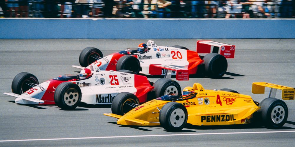 1989 indy 500 front row indy car racing indy cars racing