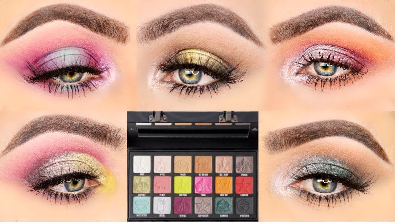 5 Looks 1 Palette 5 Eye Looks With The Conspiracy Palette From