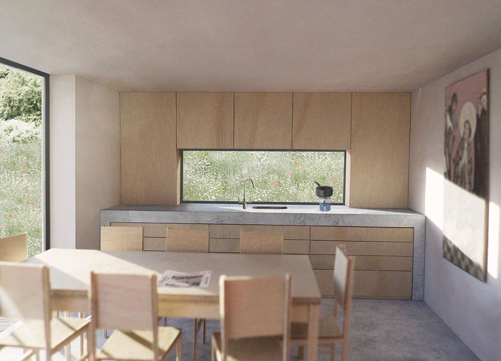 Bunkhouse Kitchen 1:20 (2013). Architectural ModelsArchitectural ...