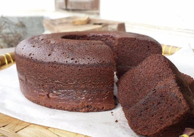 Brownies Kukus Ny. Liem Versi Gluten Free Resep (Dengan