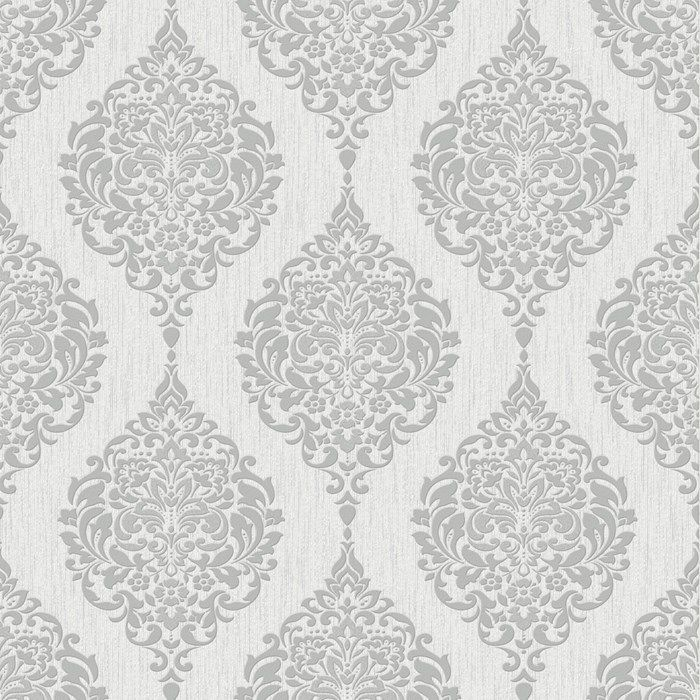 Shop Wayfair for Graham & Brown Luna x 20 Damask Embossed Wallpaper - Great  Deals on all Decor products with the best selection to choose from! - Luna Grey Graham And Brown … Pinteres…