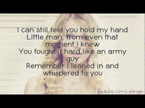 Taylor Swift - Ronan.  This song KILLS ME. It really makes me think of my son. :'(