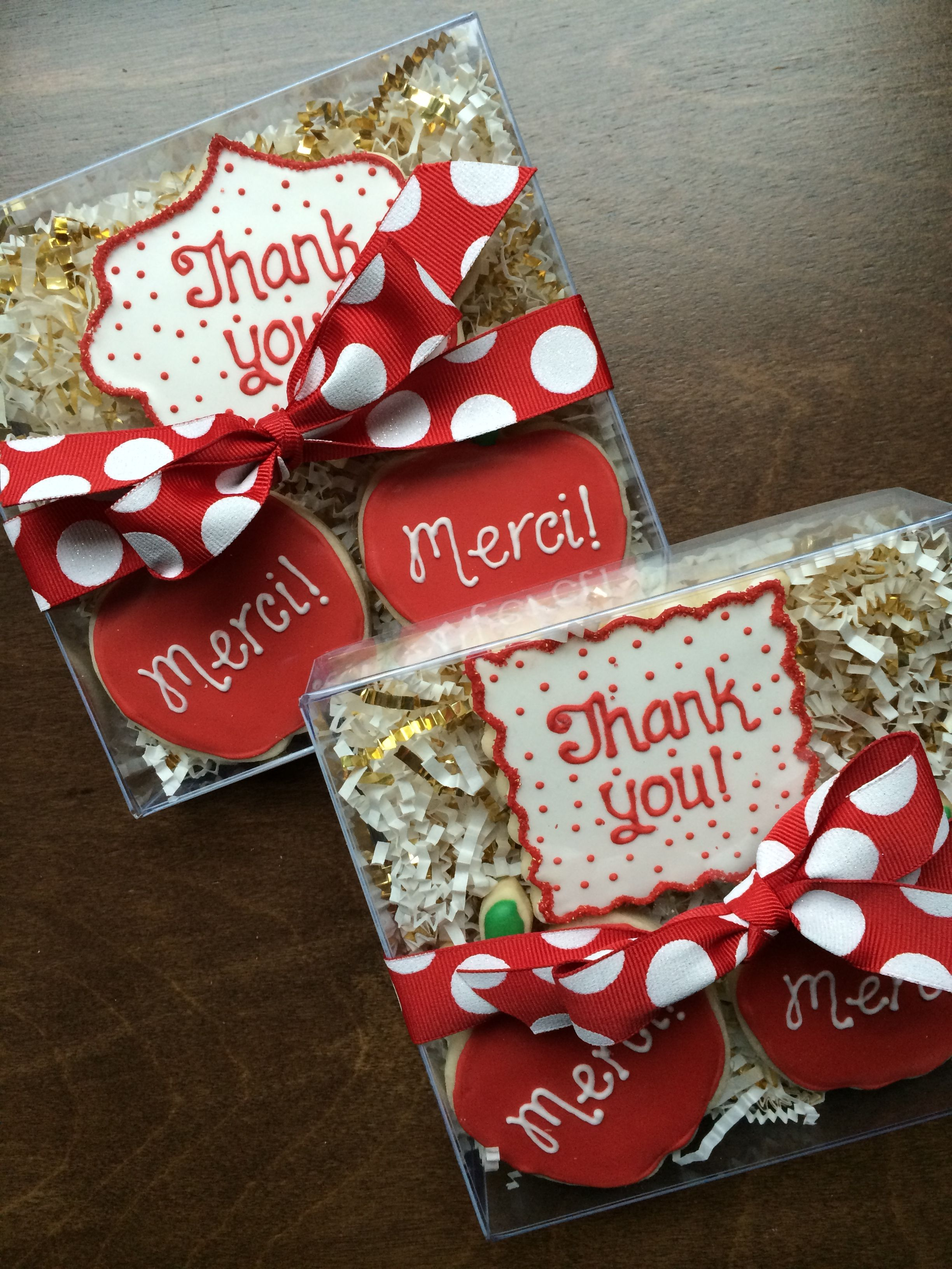 christmas cookies gift boxes