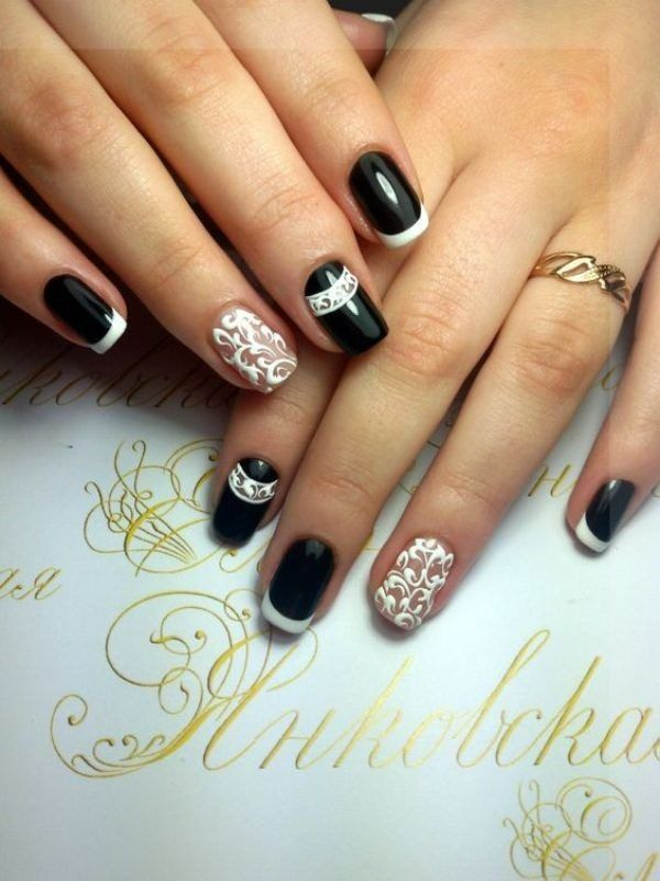 45 Gorgeous Nail Art Design For New Year\'s Eve - EcstasyCoffee ...