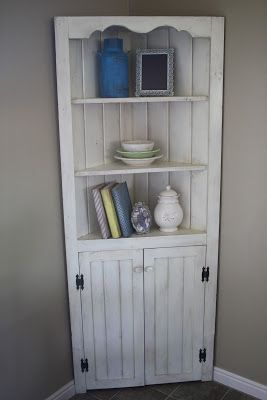 I Painted This Hutch An Off White Color Was Tempted To Keep It Right