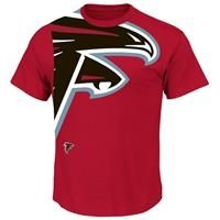 Atlanta Falcons Blind Pass Red S S T Shirt Atlanta Falcons Clothes Atlanta Falcons Atlanta Falcons Shoes