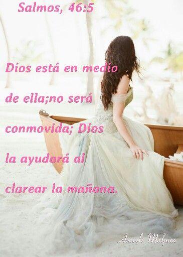 Salmos 46 5 Dios Está En Medio De