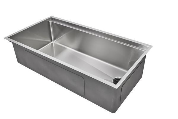 37 Quot Ledge Sink Single Bowl Offset Drain Right 5ls37r