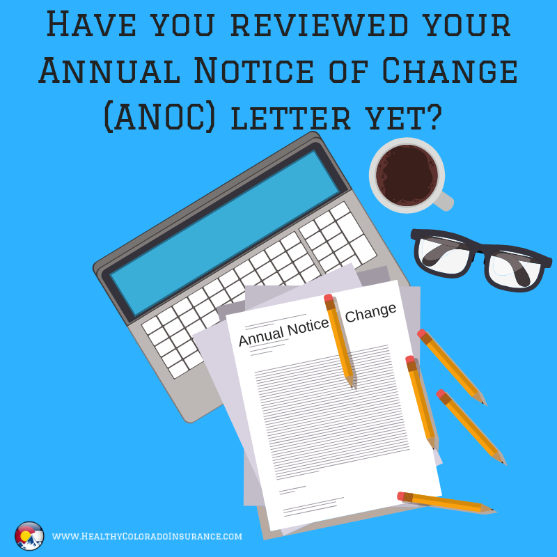 Have You Reviewed Your Annual Notice Of Change Anoc Letter Yet
