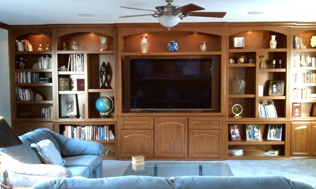 Maple Entertainment Center Wall Unit Custom Units In Southern California C And L Designs